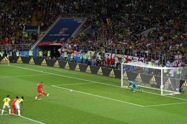 ЧМ-2018: Колумбия - Англия 1:1 (по пенальти 3:4)