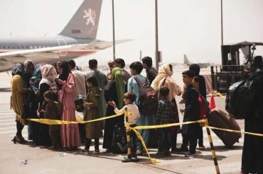 МВД запросило у Кабмина 500 миллионов на беженцев из Афганистана