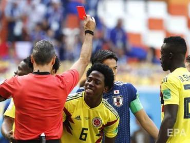 Неожиданно для всех сборная Японии по футболу переиграла Колумбию