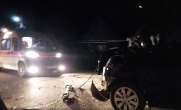 ДТП с пострадавшими на Закарпатье: авто врезалось в автобусную остановку