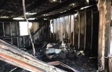 Нічний Ужгород освітила велика пожежа