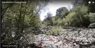 """Закарпатье по рекам """"экспортирует"""" в ЕС мусор и отходы"""