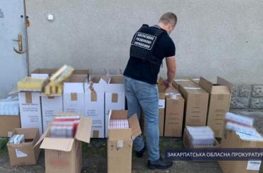 В Закарпатье совместно со спецназом обыскали торговый комплекс и найденное вызывает изумление