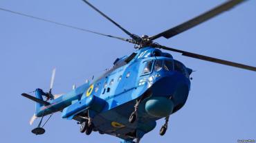 В военном параде в Киеве вертолеты морской авиации участвуют впервые