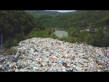 Гори Закарпаття вже нагадують гігантський смітник!