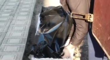 Пакет порвался в руках: Умершего от коронавируса украинца вернули семье в черном пакете