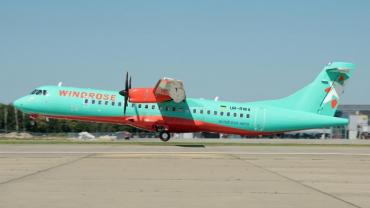 """Літаки """"Windrose"""" курсуватимуть поміж містами Ужгород і Київ сім днів на тиждень"""
