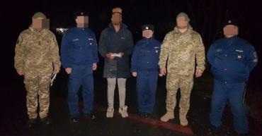 Угорські прикордонники затримали сомалійця, який незаконно перетнув українсько-угорський кордон