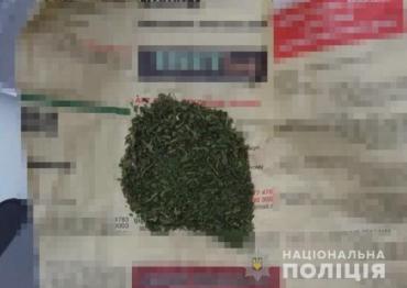 Закарпаття. На Мукачівщині поліція вилучила у чоловіка наркотики