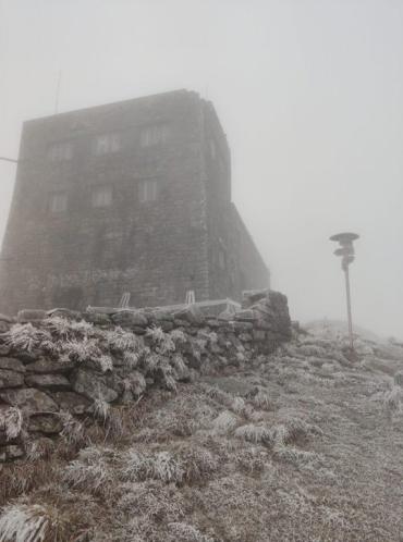 Зима уже тут: В Закарпатье ночью ударили сильные морозы