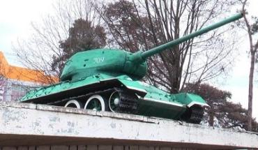 Освободитель Мукачево - забытый танк Т-34