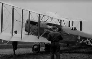 Открытие аэропорта в Ужгороде 1929 год