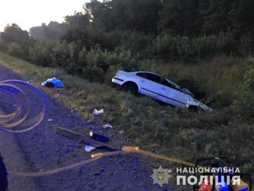 В Закарпатье Volkswagen Passat на полном ходу врезался в Fiat - новые детали аварии