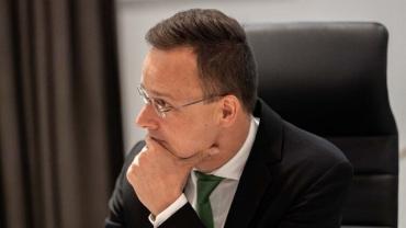 Запрет на въезд в Украину Иштвану Греже Сийярто назвал громом среди ясного неба