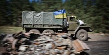 В подорвавшемся в зоне ООС ГАЗе ехали бойцы-минометчики