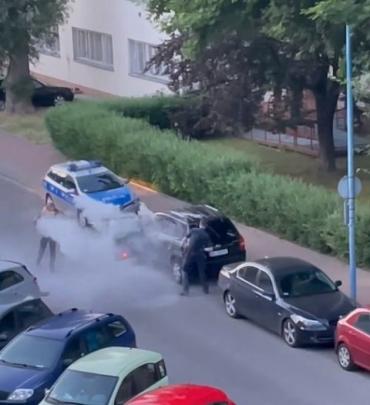 """В Польше """"взять"""" украинца смогли только 8 полицейских, неадекват жестко сопротивлялся"""