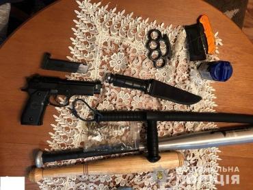 Оружие и наркотики изъяли в ходе спецоперации в Закарпатье
