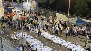Десятки человек погибли в давке во время религиозного праздника в Израиле