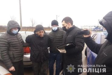 Операцию по задержанию провели на окраине Мукачево
