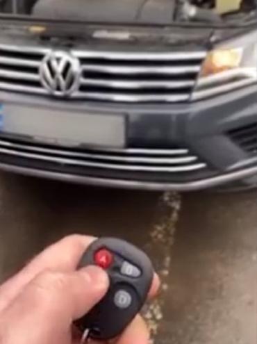 В Закарпатье решившему попонтоваться водителю VW придется заплатить нехилый штраф