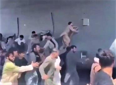 Человеческие останки найдены в нише шасси самолета ВВС США, вернувшегося из Кабула