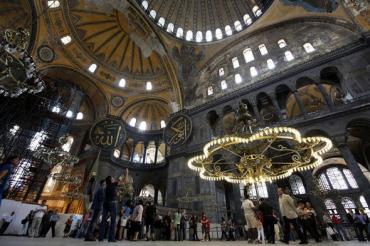 Вопреки воле Ататюрка : Турки превратили собор Айя София в Стамбуле в мечеть