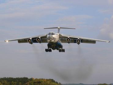 В районе Говерлы состоялись испытания военно-транспортного самолета Воздушных сил ВСУ