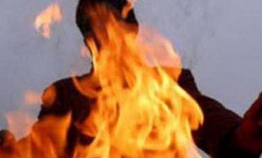 Мешканець Закарпаття миттєво перетворився на вогняний смолоскип!