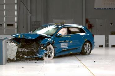 Высший рейтинг безопасности получил единственный электромобиль в мире Audi E-Tron