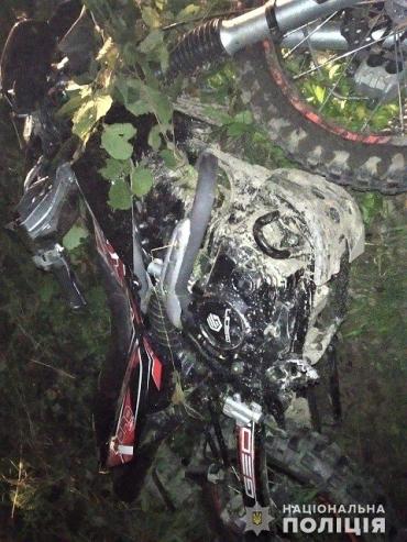 В Закарпатье на рассвете насмерть разбился 17-летний мотоциклист