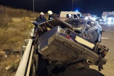В трагическом ДТП на автодороге Киев-Чоп столкнулись ВАЗ и «Opel Insignia»: Семь жертв