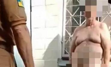 Коронавирус рвет крышу: В Киеве голый украинец хотел удрать из инфекционного отделения