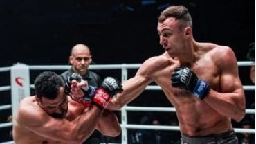 Украинский боец смешанных единоборств Роман Крыкля стал чемпионом в полутяжелом весе по MMA