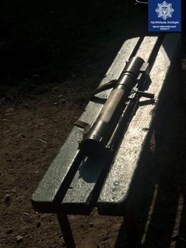 В Ивано-Франковске неизвестный потерял гранатомет РПГ-22