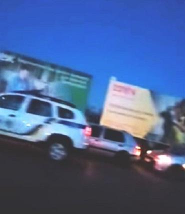 Авария в Закарпатье: Столкнулись два авто, видео опубликовали в сети