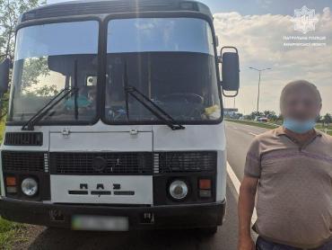 В Закарпатье за нарушение карантина оштрафуют водителя автобуса на междугороднем маршруте