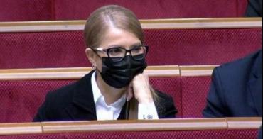 У Юлии Тимошенко обнаружили коронавирус