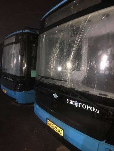 В автобусы полетели камни: КП Муниципальный транспорт в Ужгороде призывает не пользоваться услугами «корыт»