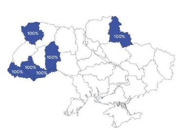 В Закарпатье вся избирательная документация передана из участков в теризбиркомы