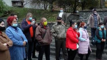 """На Закарпатті підприємці протестують проти """"червоних"""" карантинних зон"""