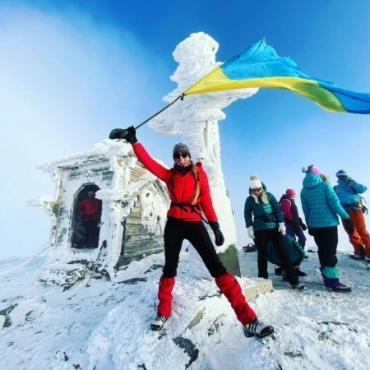 Закарпатський Петрос вкритий листопадовим снігом!
