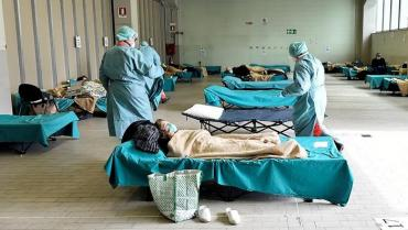 Ведомство Степанова обнародовало требования к мобильным госпиталям для больных COVID-19