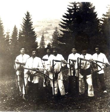 В пам'ять про голодуючих селян-русинів Подкарпатської Русі середини 30-х років 20-го століття