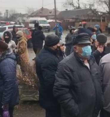 Населення Закарпаття протестує через високі тарифи на газ і електрику