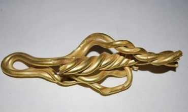 Знайдене на Закарпатті стародавнє золото було розкидане на площі у 70 квадратних кілометрів
