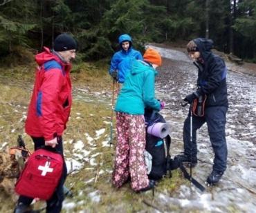 На полонині в Закарпатті стало зле мандрівниці з Києва