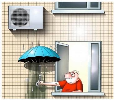 """В Украине осталась всего лишь """"одна проблема"""" - ...кондиционеры на домах!"""