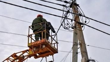 В Закарпатье остаются без света 10 населенных пунктов