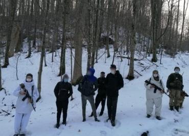 Квартет нелегалов в Закарпатье останавливали со стрельбой