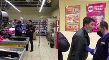 """Бійка """"слабоалкогольного"""" відвідувача з охоронцем супермаркету """"АТБ"""""""